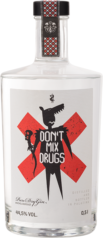 Pure Dry Gin, Don`t mix Drugs